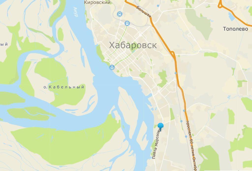 Добраться Леруа Мерлен в Хабаровске