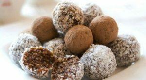 ПП-конфеты из творога с какао