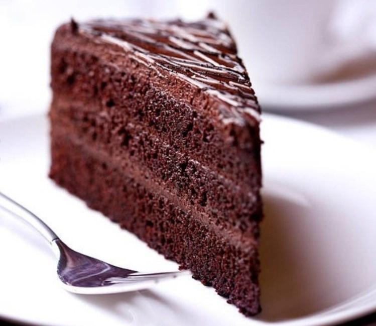 Шоколадный ПП-торт